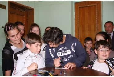 Беженцы из Донецка приехали на концерт благодаря «ГрузовичкоФ»