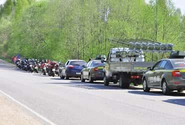«ТаксовичкоФ» и «ГрузовичкоФ» приняли участие в мотопробеге «Малые герои великой войны»