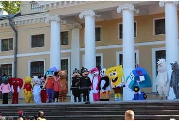 «ГрузовичкоФ» подвёз героев мультфильмов