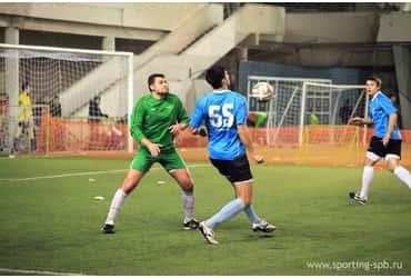 Футболисты «ГрузовичкоФ» одержали вторую победу в Объединенной Спортинг−лиге
