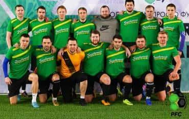 Футбольная команда «ГрузовичкоФ» с победы начала турнир Premier Football Cup