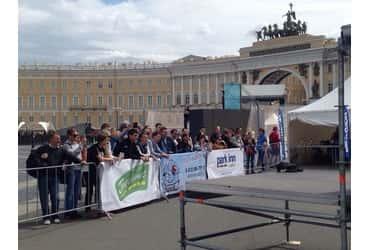 Фестиваль экстремальных видов спорта и уличных субкультур в центре Петербурга