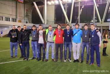 «ГрузовичкоФ» взял серебро в зимней Спортинг-лиге