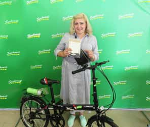 Победительница конкурса «ГрузовичкоФ» и «ВелоДрайв»