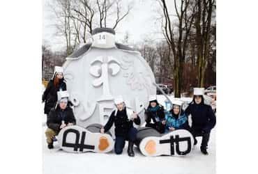 «Рубль» скатился с горы на фестивале SaniDay